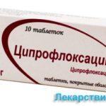 Ципрофлоксацин от чего назначают, показания к применению