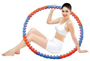 Эффективные упражнения с обручем.