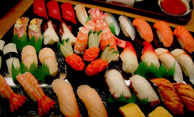 аппетитные суши