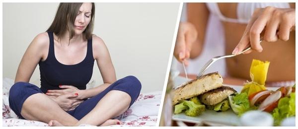 Больной живот и полезная пища