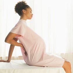 Боли в пояснице у беременных.