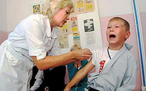 детская прививка от кори