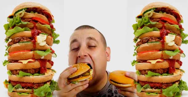 Стопка гамбургеров