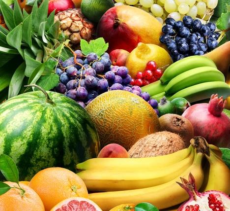 Арбуз, дыня, виноград, бананы