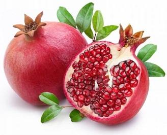 Плод гранатного дерева