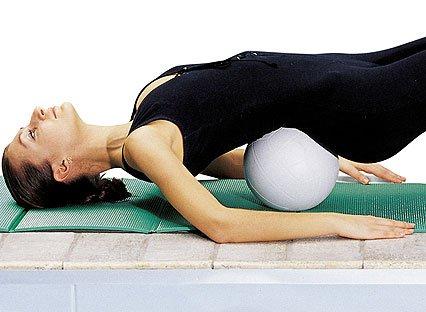 Упражнение с мячем