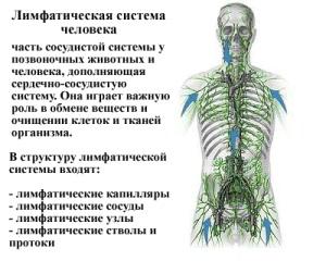 У лимфатической системы могут возникнуть сбои.