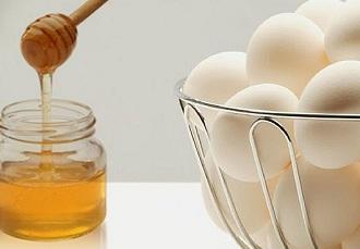 Мед и яйца