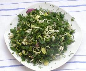 Салат с мокрицей