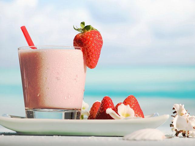 Молочно-фруктовый коктейль