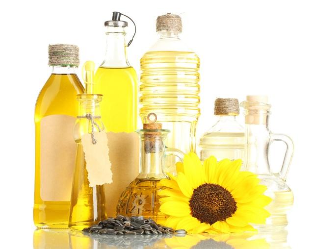 Подсолнечное масло получают из семян подсолнуха