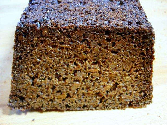 Ржаной хлеб грубого помола