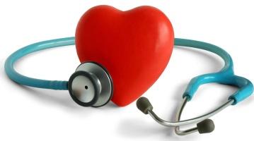 Сердце и стетаскоп
