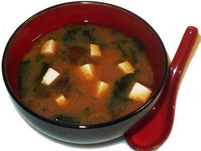 соевый суп при гастрите