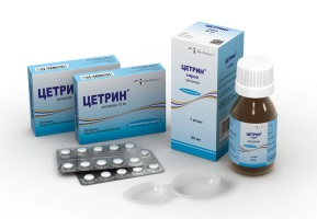 Препарат Цетрин поможет избавится от аллергии.
