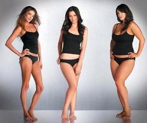 Типы телосложения девушек
