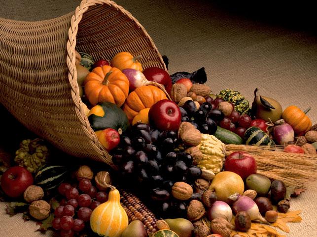 Овощи и корзина